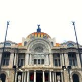 Palacio de Bellas Artes в Мехико Стоковое Изображение