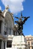 Palacio de Bellas Artes в Мехико Стоковое фото RF