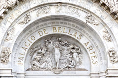 Palacio de Bellas Artes Immagini Stock