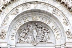 Palacio de Bellas Artes Stockbilder