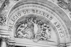 Palacio de Bellas Artes au Mexique, ville Image stock