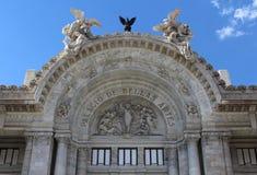 Palacio de Bellas Artes in Città del Messico Fotografia Stock Libera da Diritti