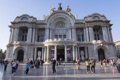 Palacio de Bellas Artes, Ciudad de México Fotografía de archivo