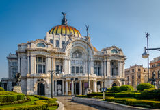 Palacio de Bellas Artes Fine Arts Palace - Mexico City, Mexico Stock Photo
