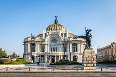 Palacio de Bellas Artes Fine Arts Palace - Mexico City, Mexico Stock Image