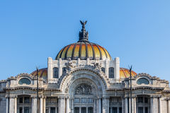 Palacio de Bellas Artes Fine Arts Palace - Mexico City, Mexico Royalty Free Stock Images