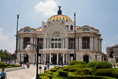 Palacio de Bellas Artes Mexico City Stock Photography