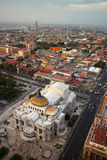 Palacio de Bellas Artes in Mexico City Royalty Free Stock Photography