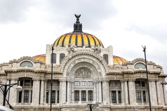 Palacio de Bellas Artes. In Mexico City Stock Photos