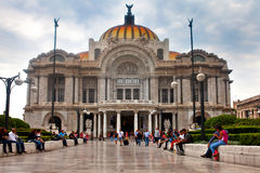 Palacio de Bellas Artes in Mexico City Stock Images