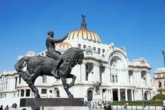 Palacio de Bellas Artes, Mexico - stad Arkivfoton