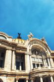 Palacio de Bellas Artes in Mexico City. Palacio de Bellas Artes or Palace of Fine Arts, a famous theater,museum and music venue in Mexico City Stock Photos