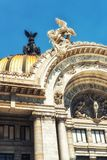 Palacio de Bellas Artes in Mexico City. Palacio de Bellas Artes or Palace of Fine Arts, a famous theater,museum and music venue in Mexico City Royalty Free Stock Image