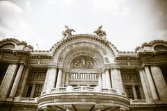 Palacio De Bellas Artes w Meksyk, miasto Zdjęcia Royalty Free