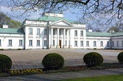 Palacio de Belweder fotos de archivo libres de regalías
