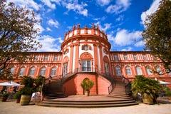 Palacio de Biebrich en Wiesbaden Foto de archivo libre de regalías