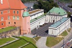 Palacio de Blacha de la vaina en Varsovia Imágenes de archivo libres de regalías