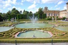 Palacio de Blenheim Imagen de archivo libre de regalías