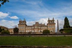 Palacio de Blenheim, Inglaterra Imagen de archivo libre de regalías