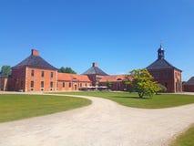 Palacio de Bothmer en estilo barroco cerca de Klutz foto de archivo libre de regalías