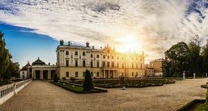 Palacio de Branicki en Bialystok Foto de archivo