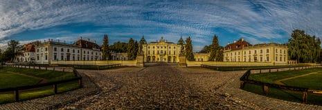 Palacio de Branicki en Bialystok Imágenes de archivo libres de regalías