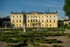 Palacio de Branicki en Bialystok Foto de archivo libre de regalías
