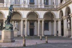 Palacio de Brera fotografía de archivo libre de regalías