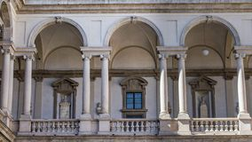 Palacio de Brera imagenes de archivo