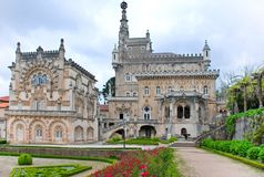 Palacio de Bussaco Foto de archivo libre de regalías