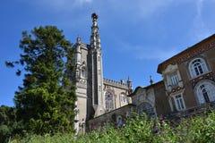 Palacio de Bussaco, Portugal Foto de archivo