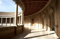 Palacio de Carlos Fotos de archivo
