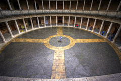 Palacio De Carlos V, Alhambra, Andalucía, España Fotografía de archivo