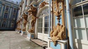 Palacio de Catherine pushkin Parque de Catherine Tsarskoye Selo metrajes