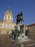 Palacio de Charlottenburg Foto de archivo