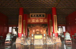 Palacio de China imagenes de archivo