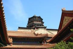 Palacio de China Imágenes de archivo libres de regalías