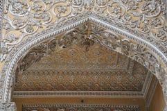 Palacio de Chowmahalla en Hyderabad, la India Imágenes de archivo libres de regalías