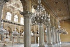 Palacio de Chowmahalla, Hyderabad, la India foto de archivo libre de regalías