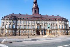Palacio de Christiansborg, Copenhague Fotografía de archivo