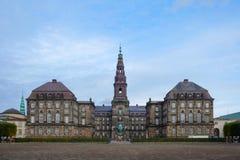 Palacio de Christiansborg en Copenhague, Dinamarca Foto de archivo libre de regalías