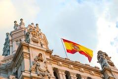 Palacio DE Cibeles, Madrid Royalty-vrije Stock Afbeelding