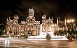 Palacio de Cibeles - Madrid Images stock