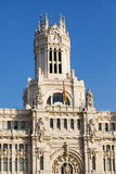 Palacio de Comunicaciones in Madrid Stock Photo
