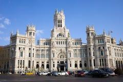 Palacio de Comunicaciones in Madrid Royalty Free Stock Photography