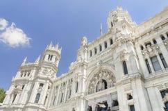 Palacio de Comunicaciones, Madrid (Spain) Royalty Free Stock Photography