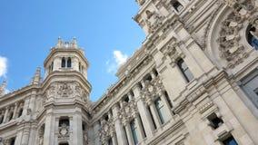 Palacio de Comunicaciones, Madrid (Spain) Royalty Free Stock Photo