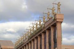 Palacio de congresos Immagine Stock Libera da Diritti