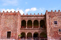 Palacio de Cortes VI. Palacio de Cortes located in the city of cuernavaca, morelos, mexico Stock Photo