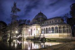 Palacio de Cristal (παλάτι κρυστάλλου) Στοκ εικόνα με δικαίωμα ελεύθερης χρήσης